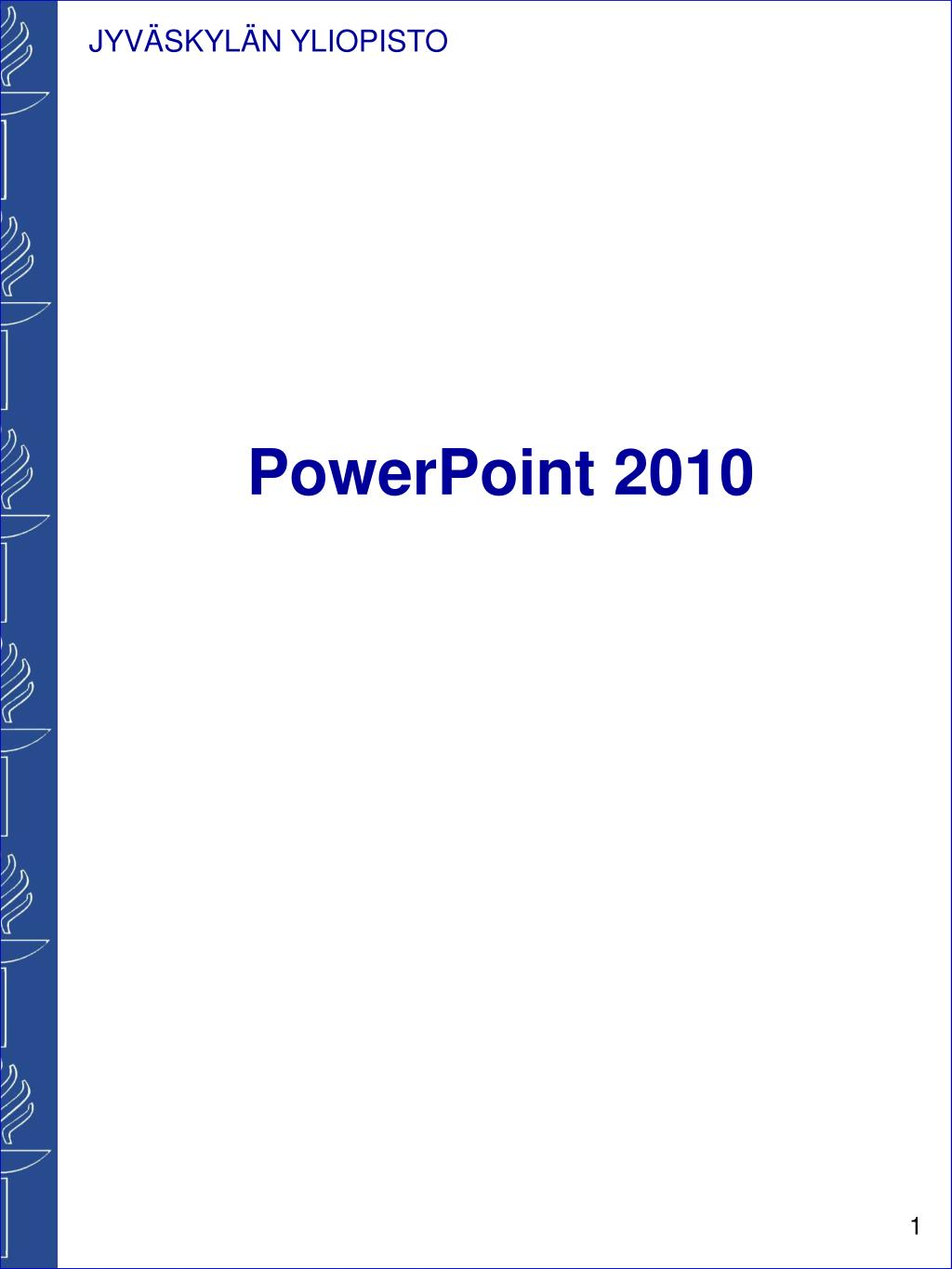powerpoint 2010 l.