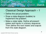 classical design approach 1
