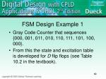 fsm design example 1