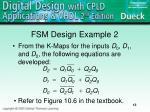fsm design example 2