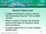 switch debouncer