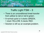 traffic light fsm 3