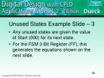 unused states example slide 3