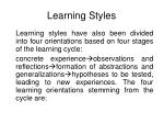 learning styles7