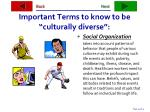 important terms to know to be culturally diverse34