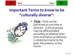 important terms to know to be culturally diverse35