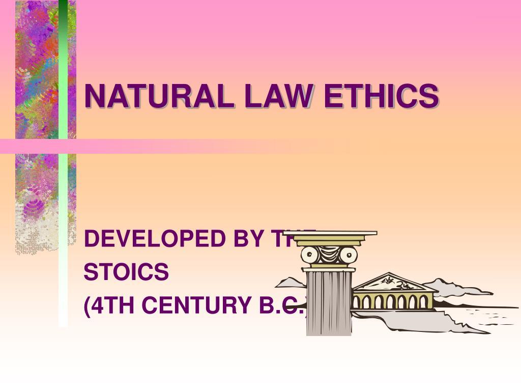 natural law ethics l.
