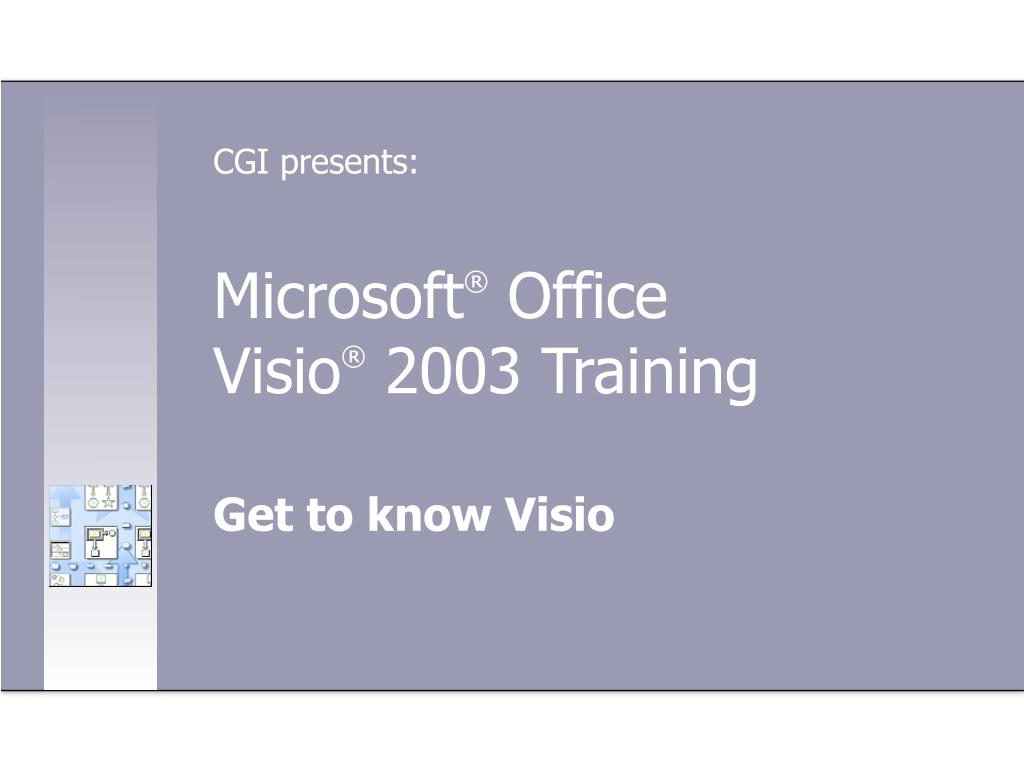 microsoft office visio 2003 training l.