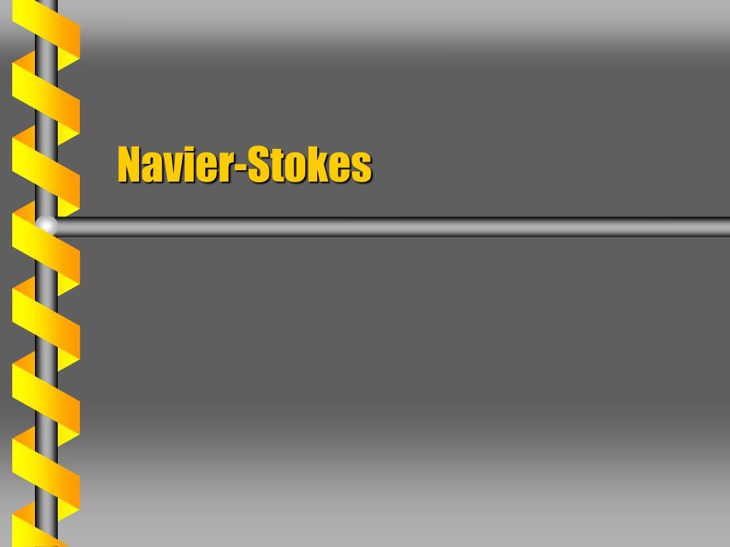 navier stokes l.