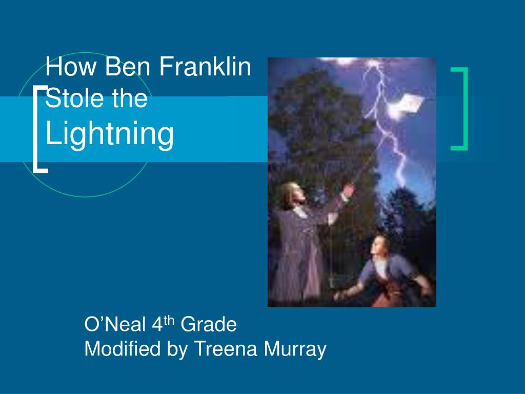 how ben franklin stole the lightning l.