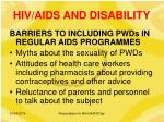 hiv aids and disability16
