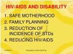 hiv aids and disability8