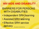 hiv aids and disability9
