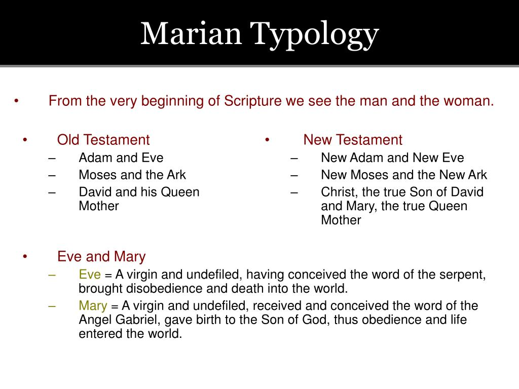 Marian Typology