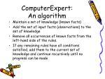 computerexpert an algorithm63