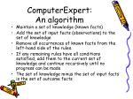 computerexpert an algorithm64