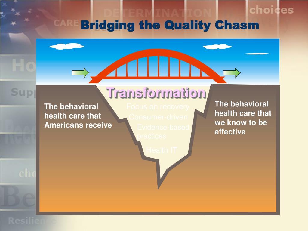 Bridging the Quality Chasm