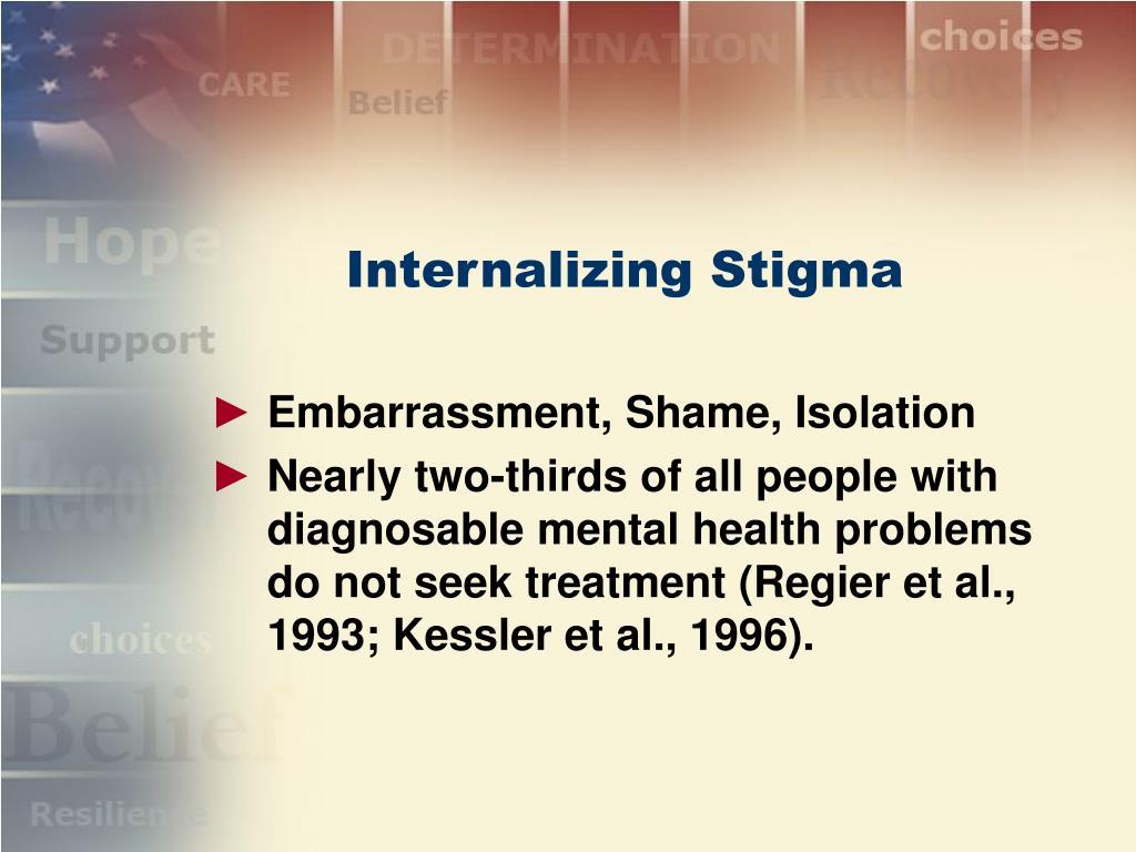 Internalizing Stigma