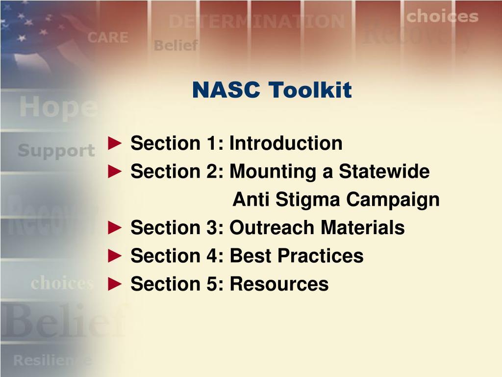 NASC Toolkit