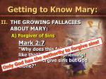 getting to know mary18