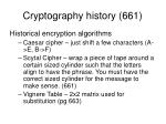 cryptography history 661