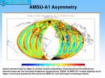 amsu a1 asymmetry