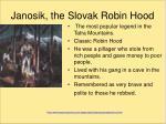 janosik the slovak robin hood