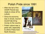 polish pride since 1991