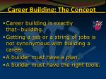 career building the concept17