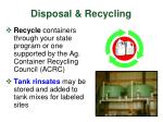disposal recycling40