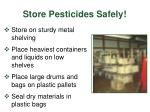 store pesticides safely28