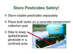 store pesticides safely29
