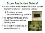 store pesticides safely30