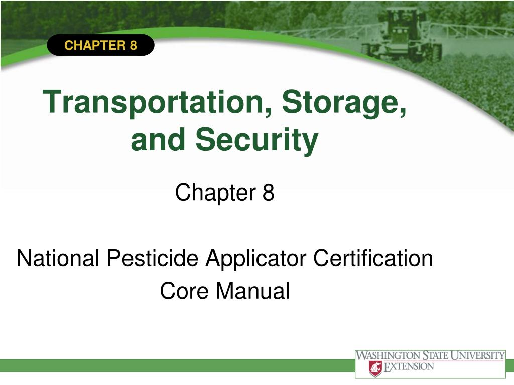transportation storage and security l.