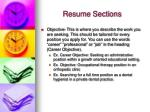 resume sections9