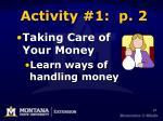 activity 1 p 245
