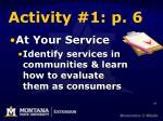 activity 1 p 6