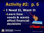 activity 2 p 6