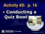 activity 5 p 16
