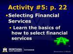 activity 5 p 22