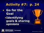 activity 7 p 24