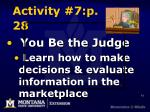 activity 7 p 28