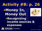 activity 8 p 26