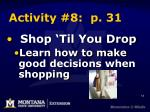activity 8 p 31