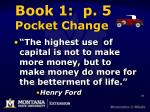 book 1 p 5 pocket change