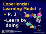 experiential learning model66