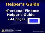 helper s guide