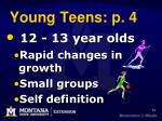 young teens p 4