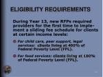eligibility requirements24
