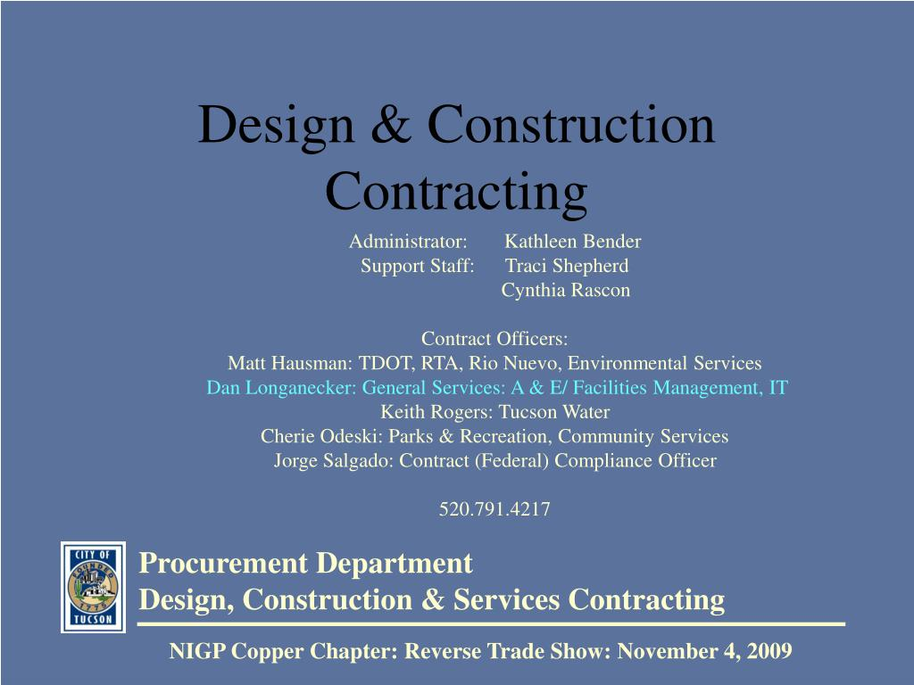 design construction contracting l.